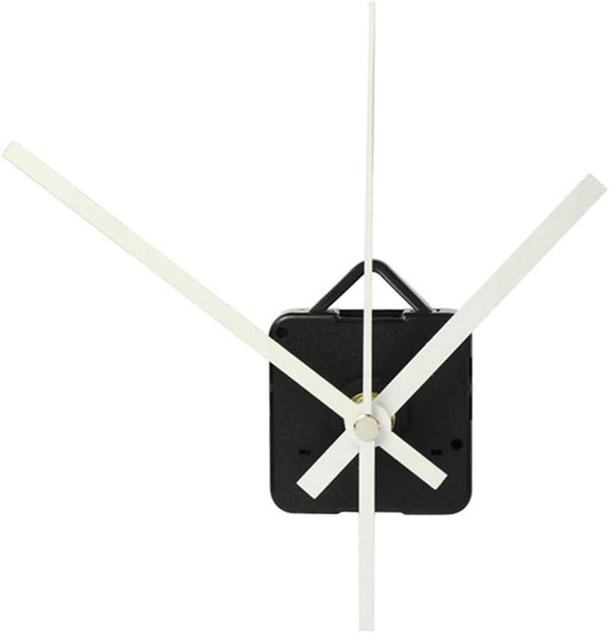 Quartz Wall Clock Movement Mechanism DIY Repair Tool Parts Kit with Black Hands