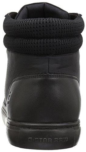 Nero Alto Zlov Sneaker Collo STAR Black Uomo Mid Cargo RAW Mono a G qnPTAZzw