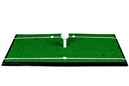 Spornia SPG-5 Golf Practice Net (3 in 1 Bundle) - Automatic Ball Return System W/ Target sheet,Two Side Barrier w/ Heavy Hitting Turf Mat w/ Chip Net Basket by Spornia (Image #5)