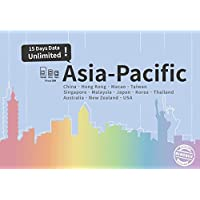 Asia-Pacific Plus Unlimited data / 15 days Japan, China, HK, US, AU, NZ... US seller