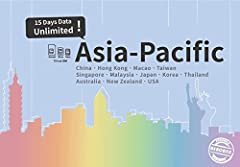 Prepaid Plans 1.3GB high speed data (Unlimited 128kbps afterward) 2.Good for 15 days (Start from your first insert date) 3.No hot spot tethering, pack comes with user instruction 4.No refill available SIM Activation 1.When you arrive in the d...