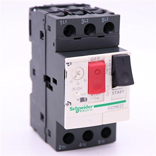 NEW TeSys GV2 Motor circuit breaker GV2-ME22 Thermal magnetic GV2ME22 20-25A