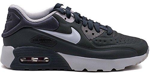 Nike Air Max 90 Ultra Se (gs) Running Trainers 844.599 Schoenen Van De (5 M Ons Groot Kind, Antraciet Wolf Grijs Gymnastiek Rood 005)