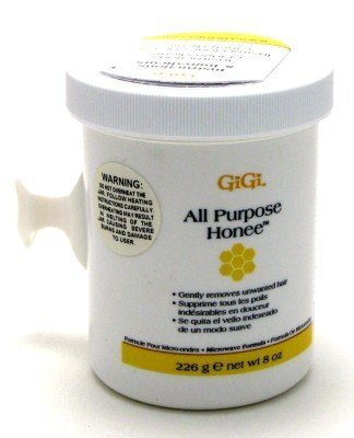 GIGI Microwave All Purpose Honee Formula 8 oz. Jar  with Fre