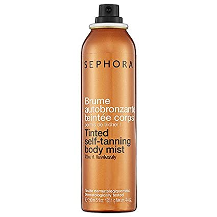 SEPHORA COLLECTION Tinted Self-Tanning Body Mist 5 oz Jubujub