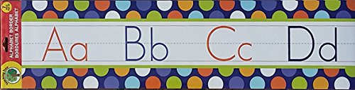 Teaching Tree Alphabet border Big Dots ()