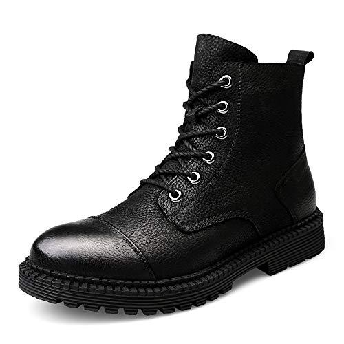 Bota Durable; Superior Moda Negro Clásico Convencional convencional Casual De Con Soportar Comodidad Hombres shoes Bnd Tobillo Dentro La A Trabajo Invierno Cálida Los Desgaste Fleece Botines BUTnx8qf