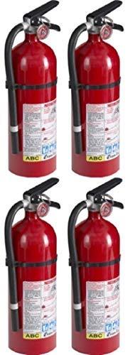 Kidde SBHY 21005779 Pro 210 Fire Extinguisher, ABC, 160CI, 4 lbs, (4 Pack)