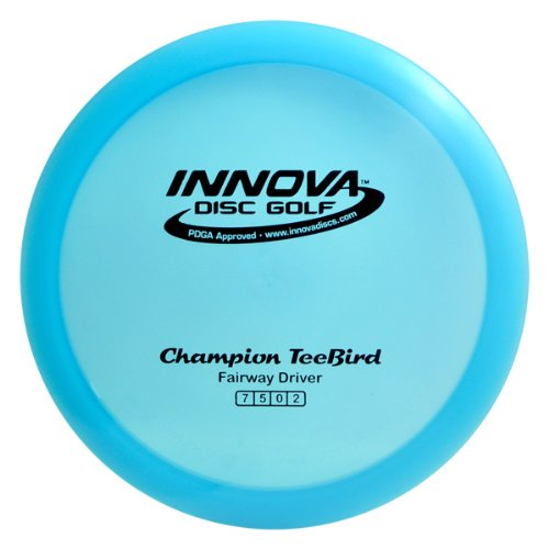 Innova Disc Golf I-Dye Champion TeeBird Golf Disc, 170-172gm (Colors may vary) by Innova Disc Golf