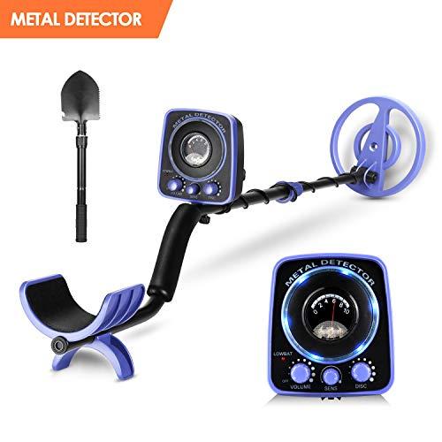 INTEY Metal Detector GC-1065 Professional Adjustable(35'-45') High Accuracy Waterproof Metal...