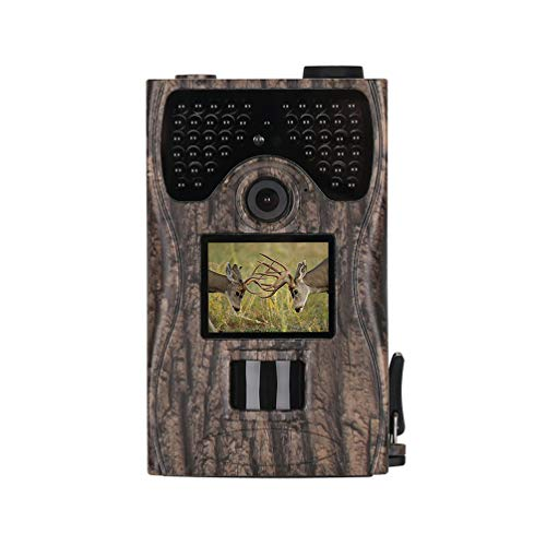 W&st Infrared Trail Hunting Camera, 12MP 1080P HD Wildlife Camera with 20m Detection Range, for Wildlife Monitoring,Home Security,Hunting,IR-Cut,IP55 (Pal Security Card Capture Ntsc)