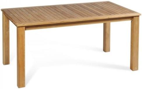Vamundo Massif 160 cm pour Table de Jardin en Teck de ...