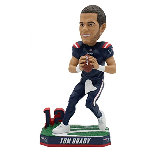 Forever Collectibles Tom Brady New England Patriots Special Edition Color Rush Bobblehead NFL