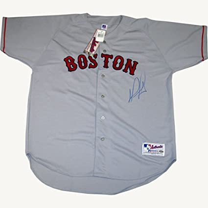 best website 54715 ff2d1 MLB Boston Red Sox David Ortiz Signed Authentic Away Jersey ...