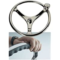 EDSON MARINE Edson 13 SS Comfort Grip Steering Wheel w/PowerKnob™ / 1710ST-13-KIT /