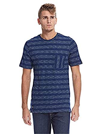 Native Youth T-Shirts For Men, L, Blue
