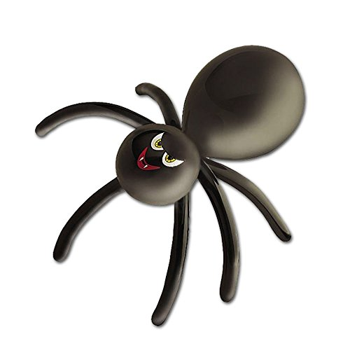 Halloween Twist And Shape Spider Party Balloon by Fright Night]()