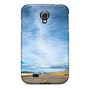 Awesome BrnXMyu3272GuTqW Jamesmeggest Defender Tpu Hard Case Cover For Galaxy S4- Highway Road