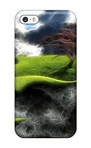 Iphone Cover Case - Abstract Fractalius Protective Case Compatibel With Iphone 5c