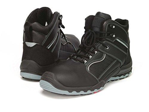 Samurai 1024116004Paar Schuhe Hohe Celcius S3HRO HI CI SRC, schwarz/grau, 41