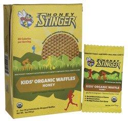 Honey Stinger Kids' Organic Waffles - Honey 6/0.5 oz (15 g) Pkts