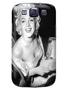 Hot selling funny figure tpu skin back cover case for Samsung Galaxy s3(Marilyn Monroe) by Shari Flanders