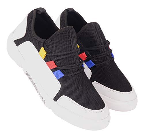 AADI Men's Black Mesh Running Sport Shoes (B07Z1W717S) Amazon Price History, Amazon Price Tracker
