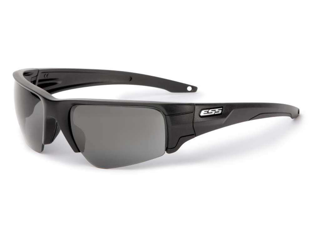Ballistic Safety Glasses, Clear/Gray