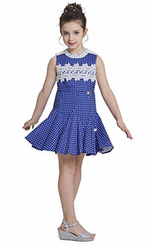 lace polka dot dress - 1