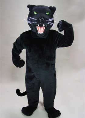 Black Panther Mascot Costume]()