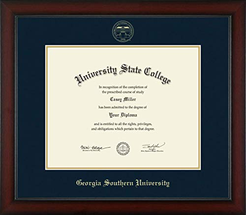 Georgia Southern University - Officially Licensed - Gold Embossed Diploma Frame - Diploma Size 15
