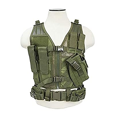 Nc Star Children's Vest, Green