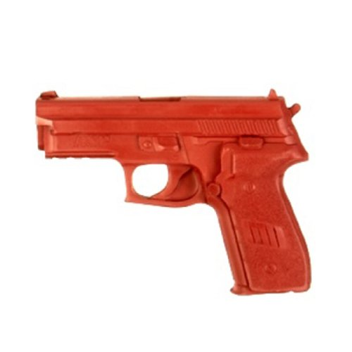 ASP SIG 228/229 9mm/.40 Red Gun Replica for Training and Practice with Martial Arts, Defense, Props, Tactical, Law Enforcement, Military 07312