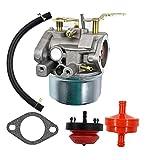 Karbay 640052 Carburetor For Tecumseh HMSK80 HMSK90 8hp 9hp 10hp LH318SA LH358SA for Snow Blower Generator Chipper Shredder 640054 640349 640058 640058A OREGON 50-659 STENS 520-926 Carb