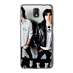 Shock Absorbent Hard Cell-phone Cases For Samsung Galaxy Note3 With Customized Colorful Asking Alexandria Band Skin DannyLCHEUNG
