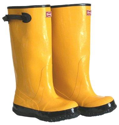 "BOSS  2KP448111 Rubber Boot, 17"" Size 11, Yellow"