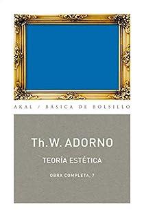 Teoría estética par Adorno