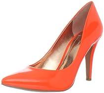 BCBGeneration Women's Cielo Pump,Neon Orange Patent,6 M US