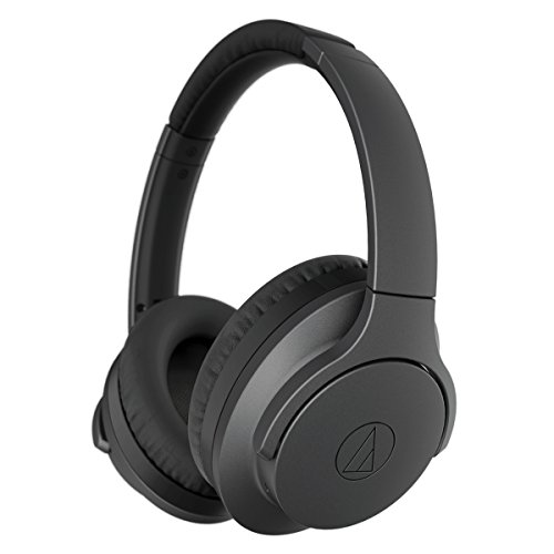 Audio-Technica ATH-ANC700BTBK Wireless Noise-Cancelling (Quietpoint Noise Canceling Headphones)