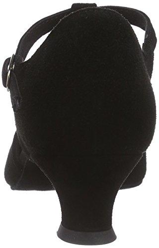 Diamant Damen Tanzschuhe 053-014-001, Women's Ballroom Dance Shoes Black - Black