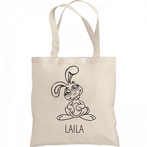 Kids Color Easter Bunny Bag Laila: Liberty Bargain Tote (Laila Tote)