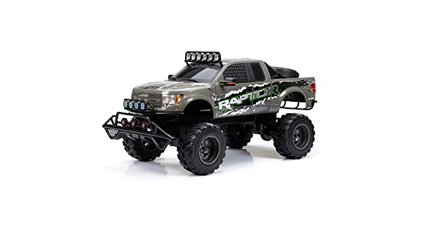 188ad8ea0ea3 Race Longer Range and Less Interference With Action Packed 2.4GHz  Technology New Bright RC 1 6 Scale Ford Raptor Truck