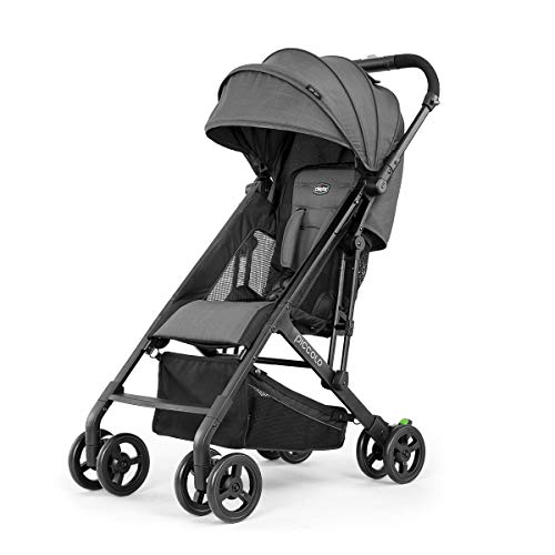 Chicco Piccolo Stroller – Carbon, Grey