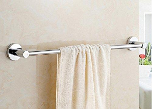 LVLIDAN Shelf Toilet Towel bar rails Contemporary Stainless steel Single layer Self adhesive 50cm