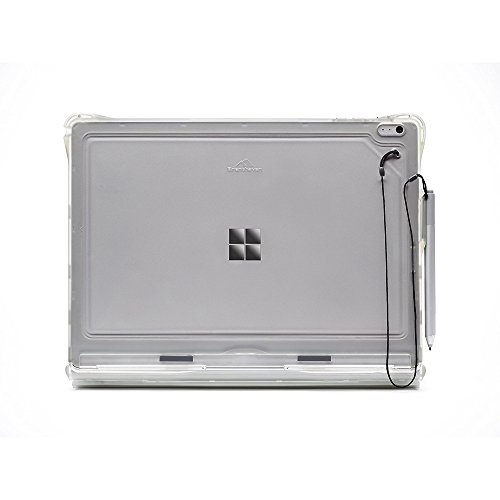 Brenthaven BX2 Edge Case | 360-Degree Protection in Laptop & Tablet Mode for Microsoft Surface Book - Smoke Gray from Brenthaven