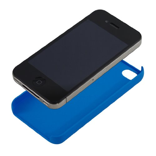 IncipioIPH-607 Feather Case for iPhone 4 - Retail Packaging - Neon Blue