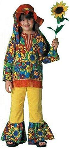 Hippie Dippie Girl's 60's 70's Costume - Hippie Dippie Costume