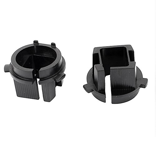uxcell 2 x Xenon H7 HID Bulb Kit Holders Retainers Adapters