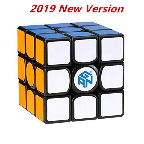 New Cube - CuberSpeed Gans 356 Air S Magnetic 3x3 Black Magic Cube GAN 356 Air SM 3x3x3 Speed Cube gan 356air S M ( 2019 New Version )