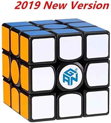 cuberspeed Gans 356 Air S Magnetic 3x3 Black Magic Cube GAN 356 Air SM 3x3x3 Speed Cube gan 356air S M ( 2019 New Version )